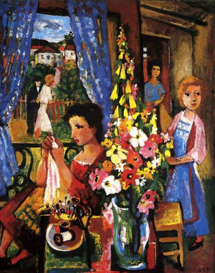 Le peintre charles walch 1896 1948 exposition for Poster devant la fenetre je guette