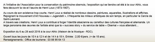 Le service de table Obernai d'Henri Loux : Formes et décors  Michel Weyl